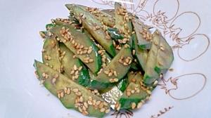 きゅうりの胡麻胡麻サラダ
