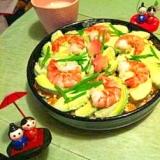 海老&アボカドの鮮やか洋風ちらし寿司