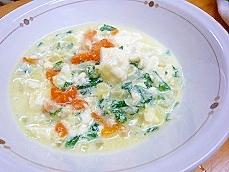 離乳食☆野菜たっぷりミルクスープ♪