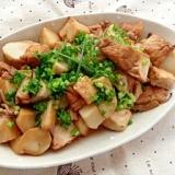 甘みと酸味が絶妙!里芋と厚揚げのバルサミコ醤油煮