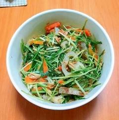 ツナと野菜の炒めびたし煮