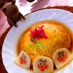 長芋と卵1個で作る、お手軽天津飯