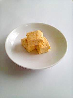 カレー味のカッテージチーズ