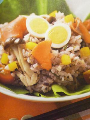 野菜たっぷり♪ライスサラダ☆