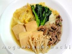 高野豆腐のすき焼き風煮