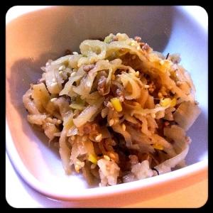 切り干し大根のピリ辛炒め煮