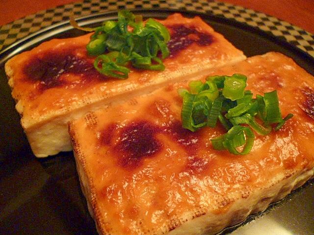 豆腐のうにマヨ焼き