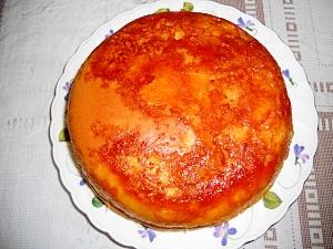 炊飯器でプリンケーキ (Pudding cake)