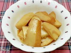 竹の子とさつま揚げの煮物