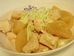 鶏むね肉と大根のやわらか煮