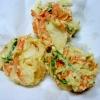 野菜のかき揚げ(安定したかき揚げ。野菜用。)