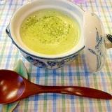 塩麹でまろやかクリーミー☆ブロッコリーの豆乳スープ