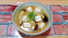 茄子が美味しい! ★茄子と豆腐のほっこり味噌汁★