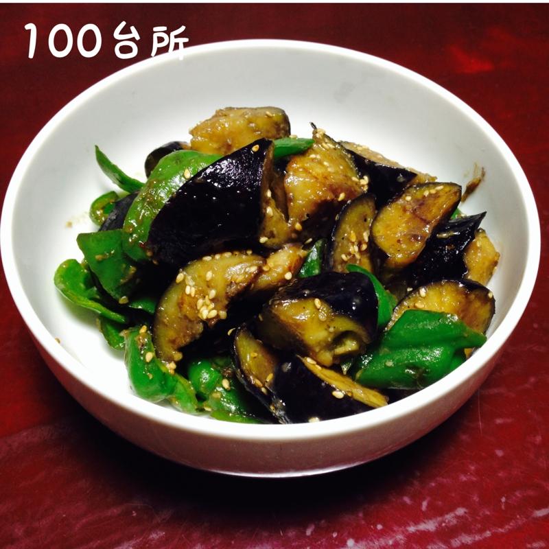めんつゆで簡単*なすとピーマンの味噌炒め レシピ・作り方 by 百(momo)|楽天レシピ