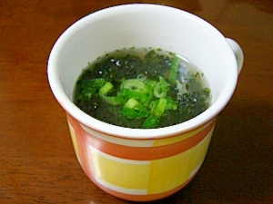 韓国海苔で速攻!韓国風野菜スープ