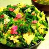 旬野菜てんこ盛りで春爛漫ちらし寿司