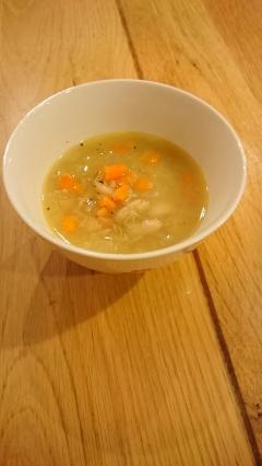 豆の優しい簡単スープ