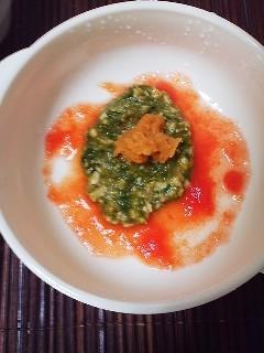 離乳食★大豆と野菜のハンバーグ風」