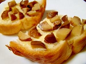 マロン練乳パン