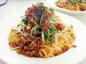 すぐできる 肉そぼろのせ中華麺 台湾の味 乾麺