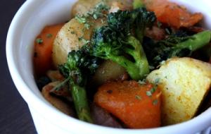 余った蒸し野菜でお弁当のおかず★ベジタブルカレー