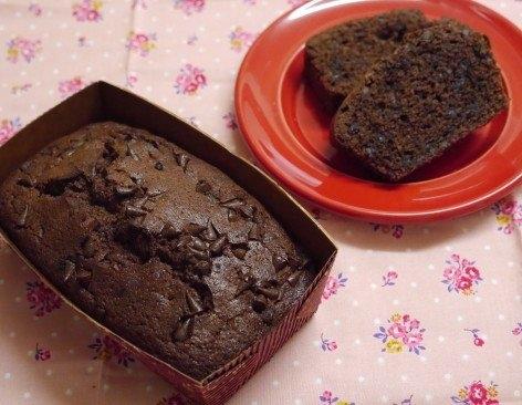 チョコ好きの方に是非★簡単チョコ・パウンドケーキ