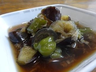 めんつゆで☆ナスとピーマンのみぞれ煮 レシピ・作り方 by kyoro3557|楽天レシピ