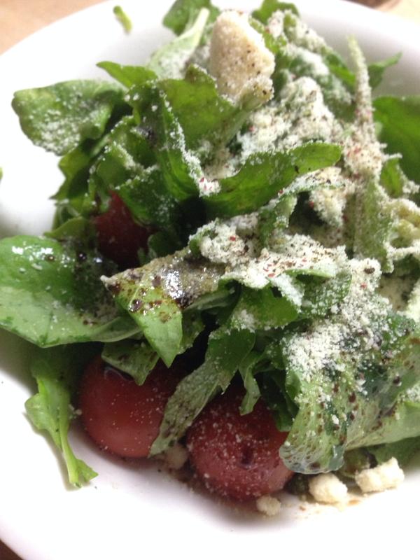 ルッコラとミニトマトのサラダ☆