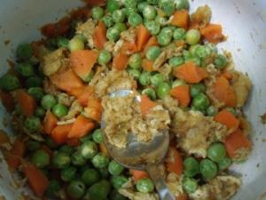 エンドウ豆まぜご飯の素