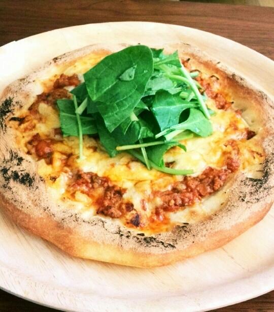オーブントースターで石窯風ピザ