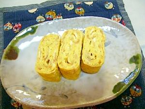 手作りコンビーフは立派な調味料☆コンビーフ玉子焼き