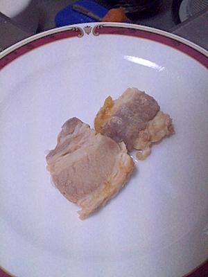 保存にぴったり♪豚かたまり肉のみそ漬け