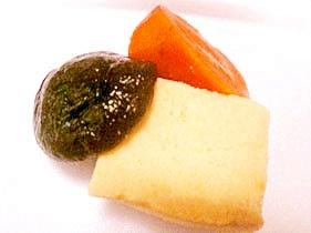 高野豆腐の塩麹炊き合わせ
