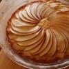 焼きっぱなしの林檎ケーキ