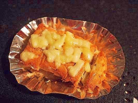 トコトン☆高カロ♪ 幸せバターチーズでマドレーヌ
