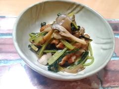 ★小松菜と舞茸とさつま揚げの簡単炒め煮★