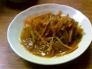 野菜たっぷり。金目鯛の甘酢あんかけ