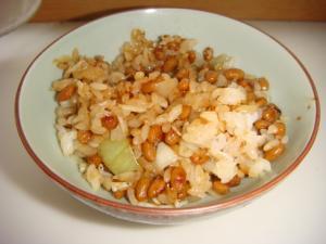 【炒飯】簡単マリネで作る納豆炒飯