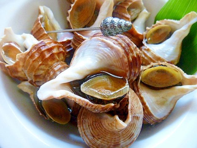 小つぶ貝の煮つけ