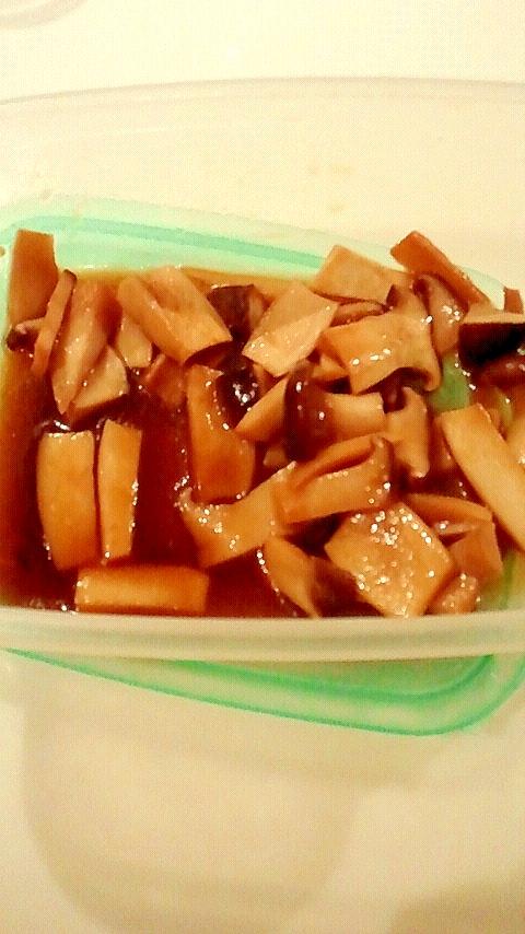 エリンギの簡単煮物
