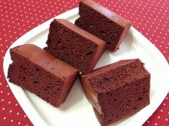 大人のための☆濃厚チョコシフォンケーキ