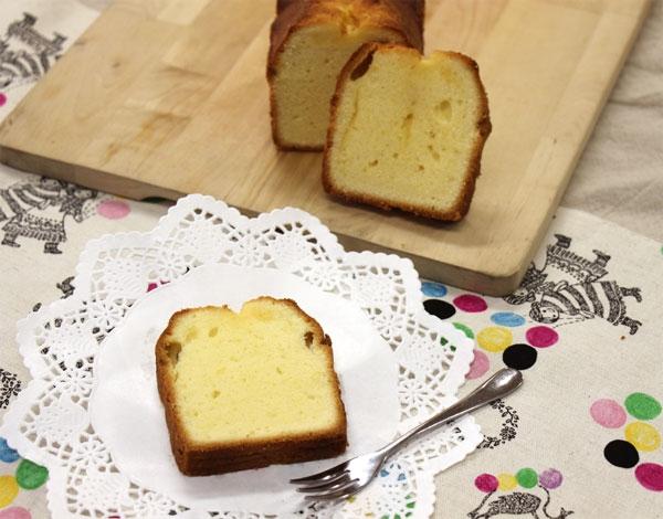 シンプル基本のパウンドケーキ