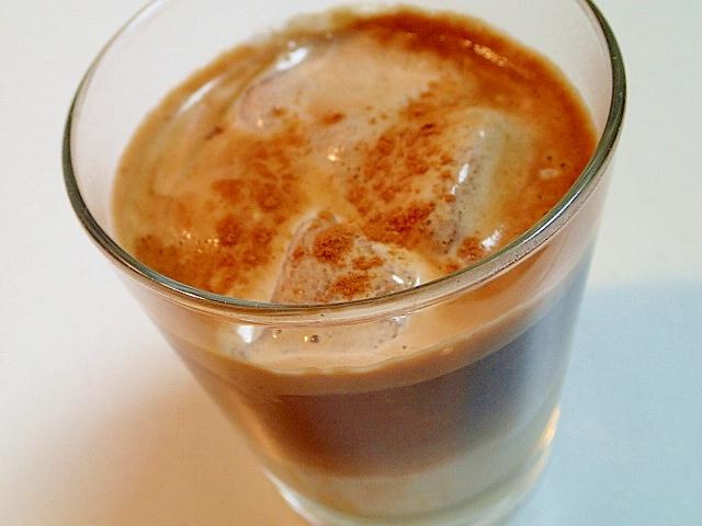 バリスタ バナナココアシャーベットのアイスコーヒー
