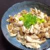節約&ダイエットに♪納豆と鶏ささみの生姜醤油和え☆