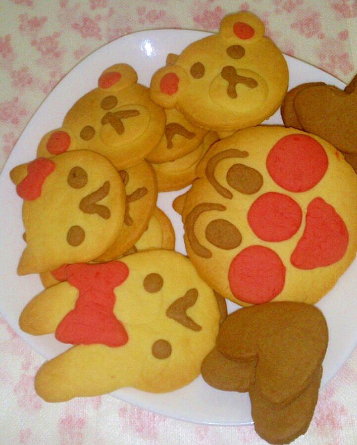さくさくポリポリ☆キャラクタークッキー