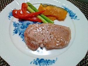 シンプルで美味しい!イベリコ豚のステーキ