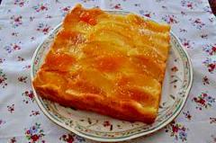 りんごとアーモンドのケーキ