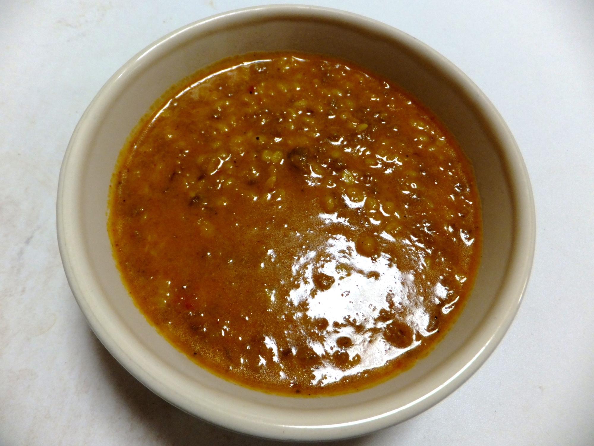 ひき肉とムング豆のカレー