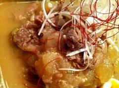 牛すじ肉と冬瓜のプルプルトゥルン煮