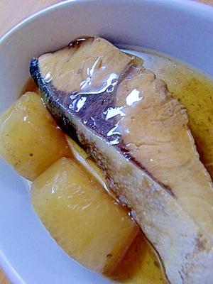 圧力鍋で簡単☆はまちと大根の煮物